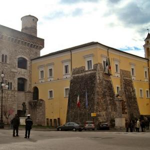 Benevento palazzo rocca rettori centro