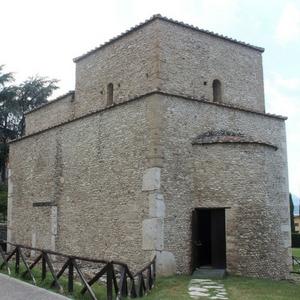 Benevento centro chiesa sant'Ilario romanico