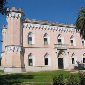 palazzo villa papi Benevento visitare