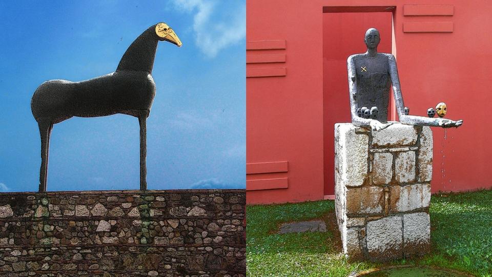 hortus conclusus Benevento Palladino