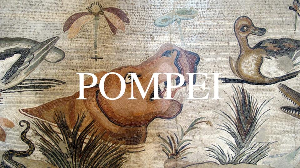 pompei mosaico