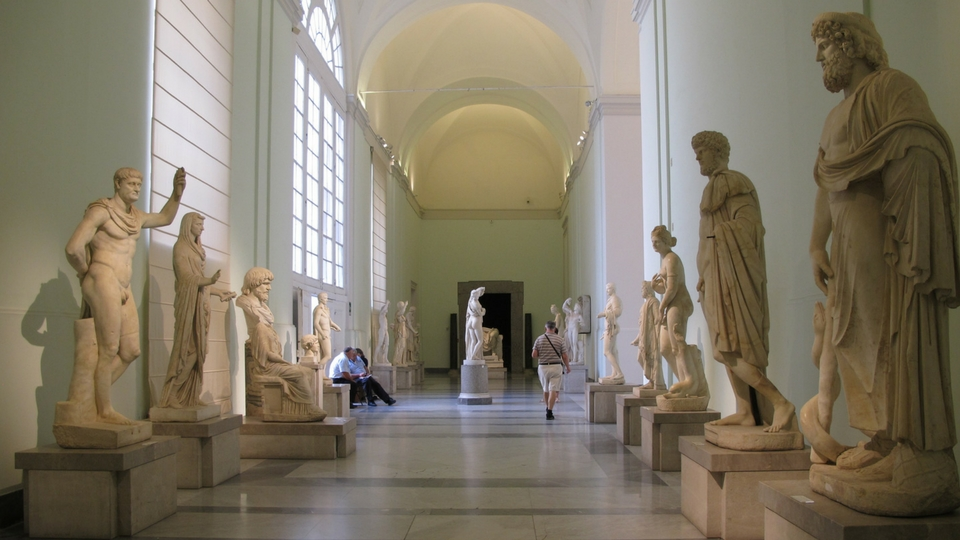 Mann Napoli Interno Farnese